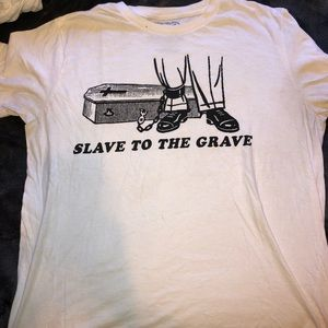 Ruckus Apparel Slave to the Grave T-shirt